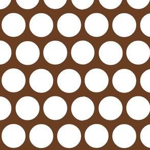 polka dot lg-brown