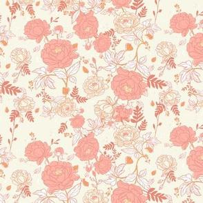 pattern illustrations flowers