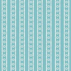 Turquoise Lines And Circles