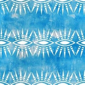 Mila Stripe turquoise horizontal