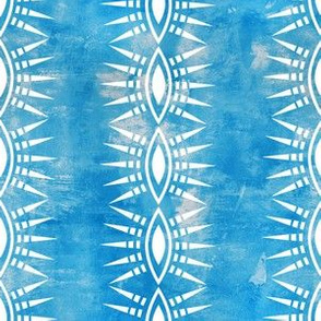 Mila Stripe turquoise verticle