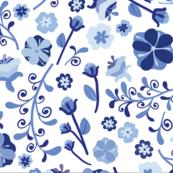 Dutch Blue Florals-kB