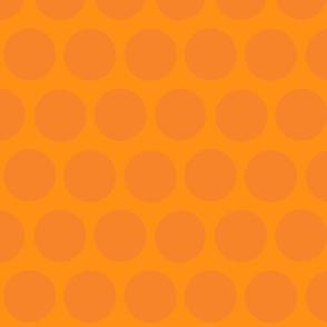 polka dot lg-orange/tangerine