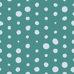 Going Dotty on Teal