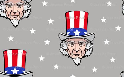 Uncle Sam - grey
