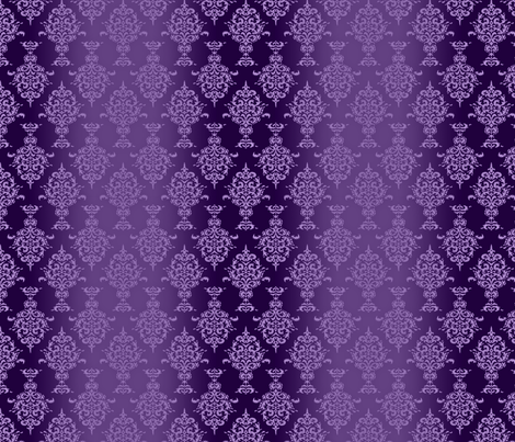 Purple Monochrome Urns fabric by linda_baysinger_peck on Spoonflower - custom fabric