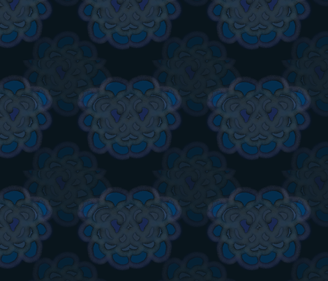 blue_flower fabric by tink-a-bel on Spoonflower - custom fabric