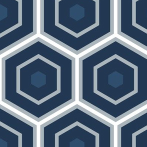hexagon large scale