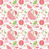 Watermelon Pink Print