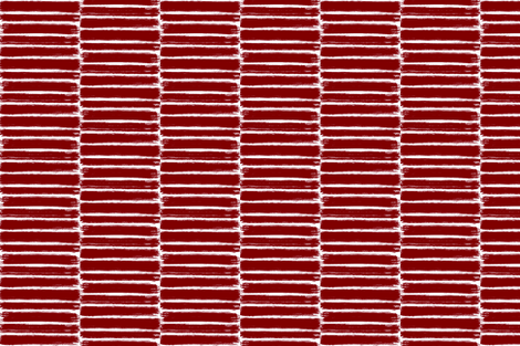 deep red brush lines (large) fabric by shesalioness on Spoonflower - custom fabric