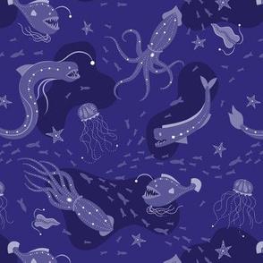 Deep Ocean - Purple