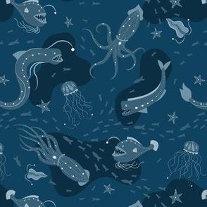 Deep Ocean - Teal