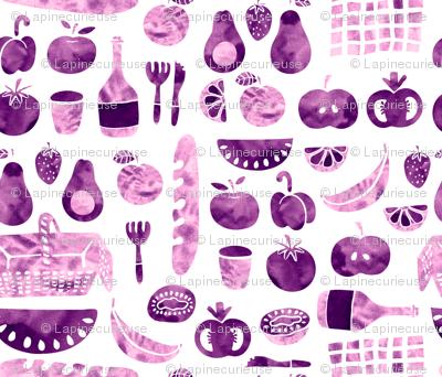picnic violet
