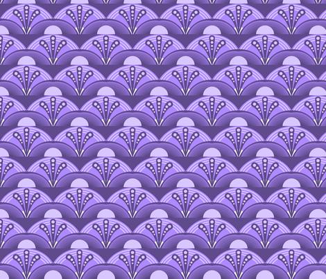 monochorme print deco fabric by katebartholomew on Spoonflower - custom fabric