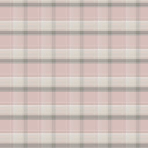F-Soft Pink plaid