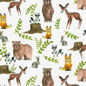 Sample - Woodland Fabric