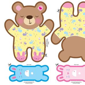 Sweet Dreams Maple FQ Minky