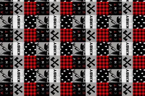 KIRBY custom fabric by moonsheets on Spoonflower - custom fabric