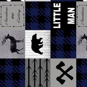 Lara - Little man quilt rotated