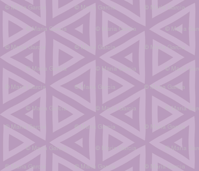Iris Purple Triangles