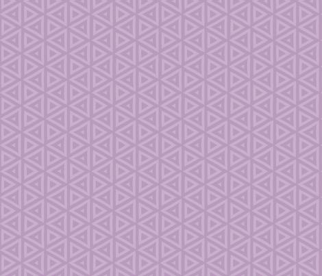 Iris Purple Triangles fabric by mariafaithgarcia on Spoonflower - custom fabric