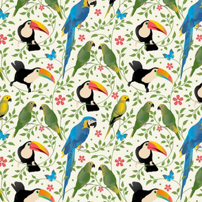 Birds & Blooms Small
