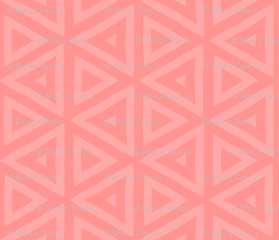 Pink Coral Triangles
