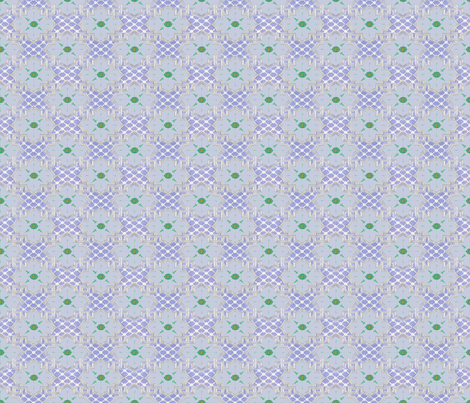 Poisonous Lattice & Flower - Small fabric by ameliae on Spoonflower - custom fabric