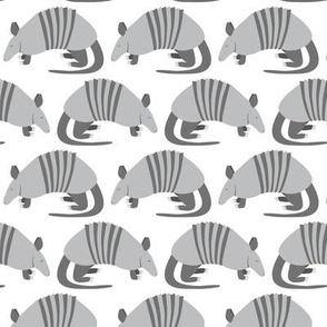 Armadillo Parade (White)
