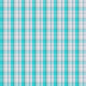 F-Turquoise Plaid