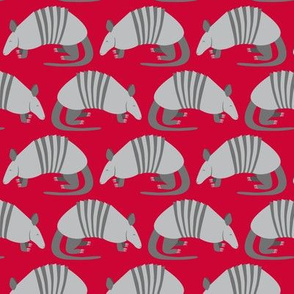 Armadillo Parade (Red)