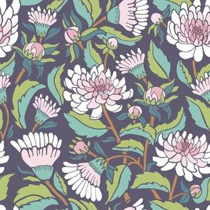 Dahlia Garden - Violet