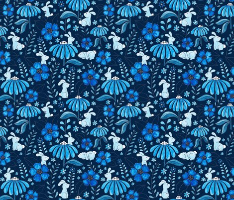 Rrrbunny_floral_-_blue_8in_shop_preview