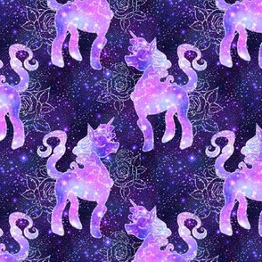 Galaxy Unicorn (pink unicorn, purple unicorn, blue unicorn, pink galaxy, purple galaxy, blue galaxy,)