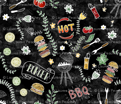 Barbecue Chalkboard