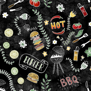 Barbecue Chalkboard