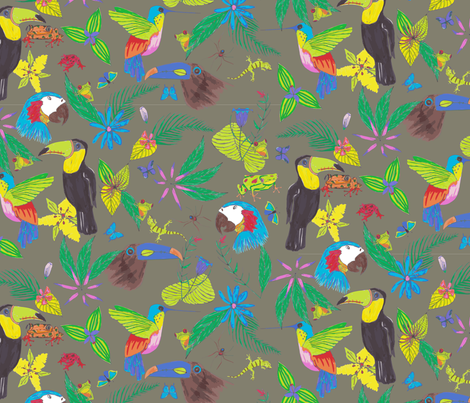 in the canopy fabric by craftwithcartwright on Spoonflower - custom fabric