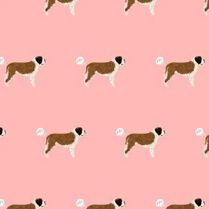 saint bernard dog fabric funny fart pure breed pets pink