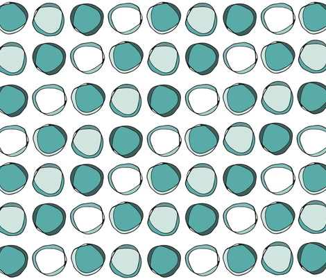 Pebbles fabric by rjswit on Spoonflower - custom fabric