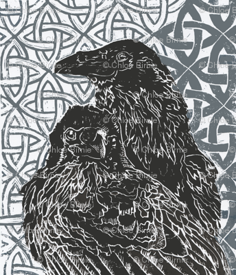huggin and muninn_  odins ravens