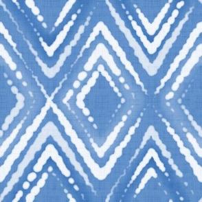 Blue indigo Shibori 6
