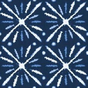 Blue indigo Shibori 5