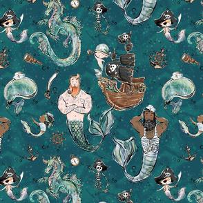 Pirate Mermen Sea Adventure