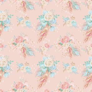Blush Boho Florals