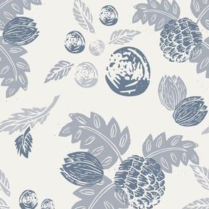 Northwood: Vintage Floral - Blue