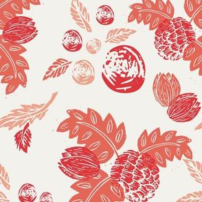 Northwood: Vintage Floral - Red