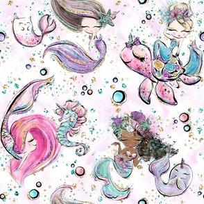 Glitter Mermaids-Rotated