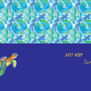 under the sea tortoise undies panel