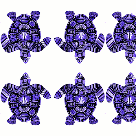 Turtle Energy fabric by joymoondesigns on Spoonflower - custom fabric