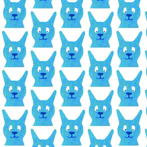 stacking bunny blue